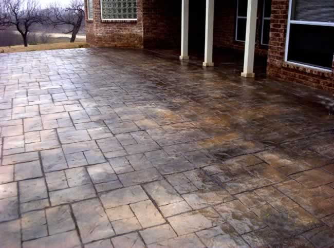 Stamped Concrete Fort Worth Decorative Concrete Fort Worth